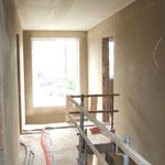 Die Galerie oben - jetzt mit richtigen Innenwänden! =)
