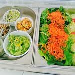 ある日の生穀菜食ランチ