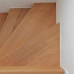 Treppendetail Eiche