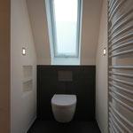 WC unter Dachschräge