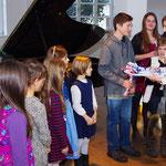 eine kleine Aufmerksamkeit für die kleinen Pianisten