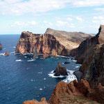 Küste und Landschaft am Ostzipfel der Insel