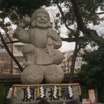 日本一の大黒様の石造