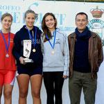 Lucrezia Baudino sul podio 2