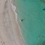 Flag Beach aus der Kite-Persepektive