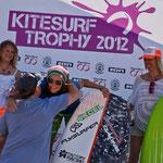 Race-Wertung KST Fehmarn: 2. Platz Annett Bremer, 1. Platz Christine Bönniger, 3. Platz Heike Wycisk (Foto: Marc Metzler / Mtwo Photo+Film)