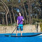 Das inflatable-SUP von Flysurfer - das Strider! Spaßfaktor: sehr hoch