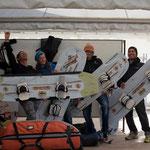 The FlyRace-Crew! Meine Jungs und ich. :)