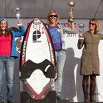 Siegerehrung: Damen Race KTE France