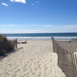 Newport Kitebeach. I love white sand, blue water/sky and warm temperatures