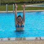 Mal kurz in den Pool springen musste sein! ;)