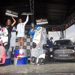 2. Katja Roose (NED), 1. Caroline Adrien (FRA), Christine Bönniger (GER) / Foto: reemedia