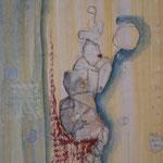 Der Spiegel - 20 cm x 30 cm; Mischtechnik auf Karton, Privatsammlung