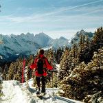 Abstieg vom Hüenderegg