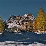 Gitschen, auf dem Weg von den Eggbergen zum Hüenderegg