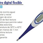 Termómetro Digital Flexible.