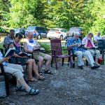 Gemeindeausflug nach Bellin 2020