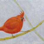 「しらいき さえずり」/キャンバスに油絵具/W273×D220(F3)