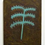 「つち の におい」2018/キャンバス、油絵具/F3
