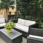 Terrasse Lounge Ecke