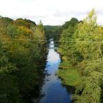 Вид на Мазурский канал со шлюза