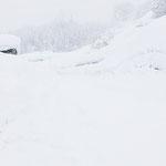 通常の視界/十日町雪道にて