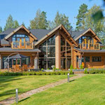 casas de madera moderas