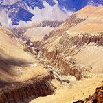Man muss den eurasischen Kontinent nicht verlassen, um etwas dem Grand Canyon Ebenbürtiges zu finden.