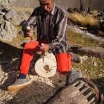 Traditioneller Mühlenbauer