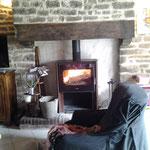 pose poêle à bois dans cheminée existante