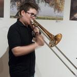 Musikalische Umrahmung: Daniel Messer