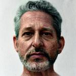 Jeff, oil on canvas, 40x40 cm. 2020