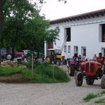 2018: Traktorfreunde Treffen am Hof am Morgensternhaus