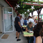 Sommerfest auf der Veranda vom Morgensternhaus
