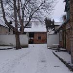 Und noch ein  Innenhof-Winterbild