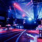 Party-Beleuchtung in der HALLE