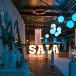 Der leuchtende SALA Schrfitzug