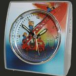 Kinderuhr Eurotime- Motiv Feuerwehr, Kinder lernen die Zeit Uhren