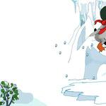 Pinguin Willibald soll in die Schule