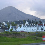 Blick auf Broadford auf der Isle of Skye