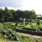 Der Schlossgarten vom Dunrobin Castle