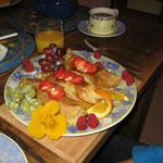 Frühstück bei Ann und Paul (Pitlochry)