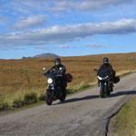 Rückfahrt durch Sutherland