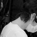 Rückenschmerzen bei zahnärztlicher Arbeit?