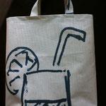 Einkaufstasche aus Baublache