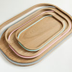SET OF 3 TRAYS - LISERE COLLECTION