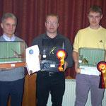 Deutsche Meisterschaft 2006 - Sieger v.l. P. Knoll, T.Völker, D.Liese