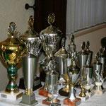 Pokale für die Sieger des Eichsfeld-Championates