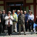 auch hier das obligatorische Gruppenfoto vor dem Kräuter-Pavillon