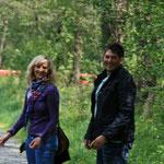 André Kücking mit seiner Frau Sonja